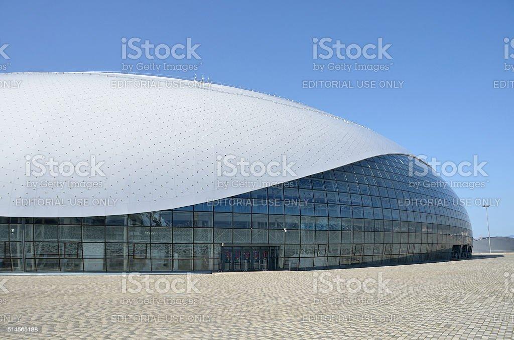 Sochi, Bolshoi ice Palace for ice hockey in Olimpic park stock photo