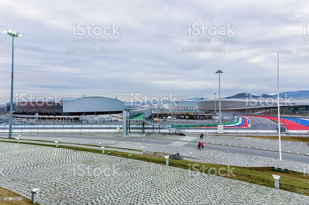 Sochi Olympic Park. Russia stock photo