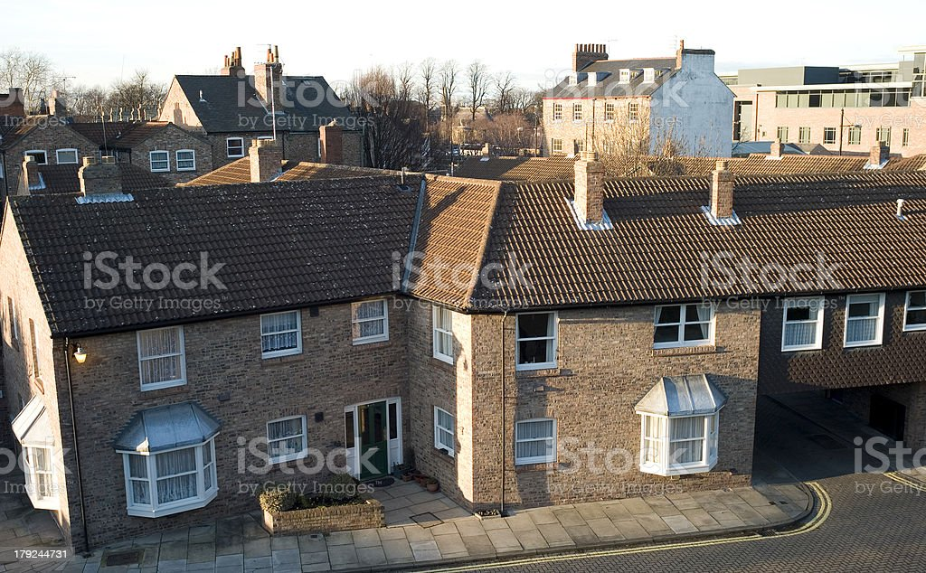 Social City Housing royalty-free stock photo