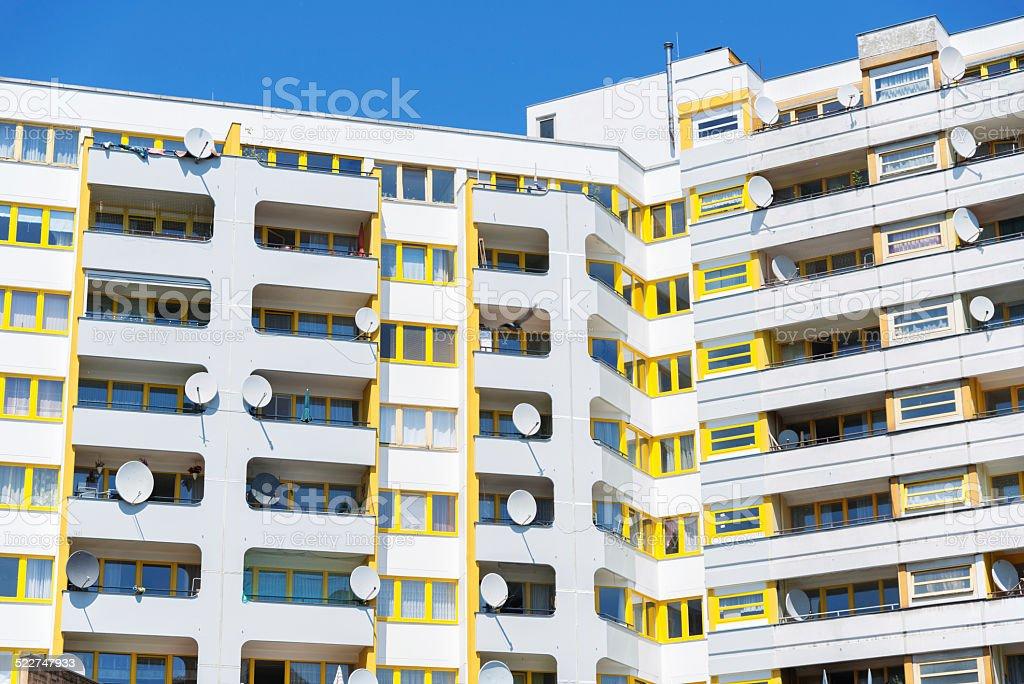 Social House Building in Berlin stock photo