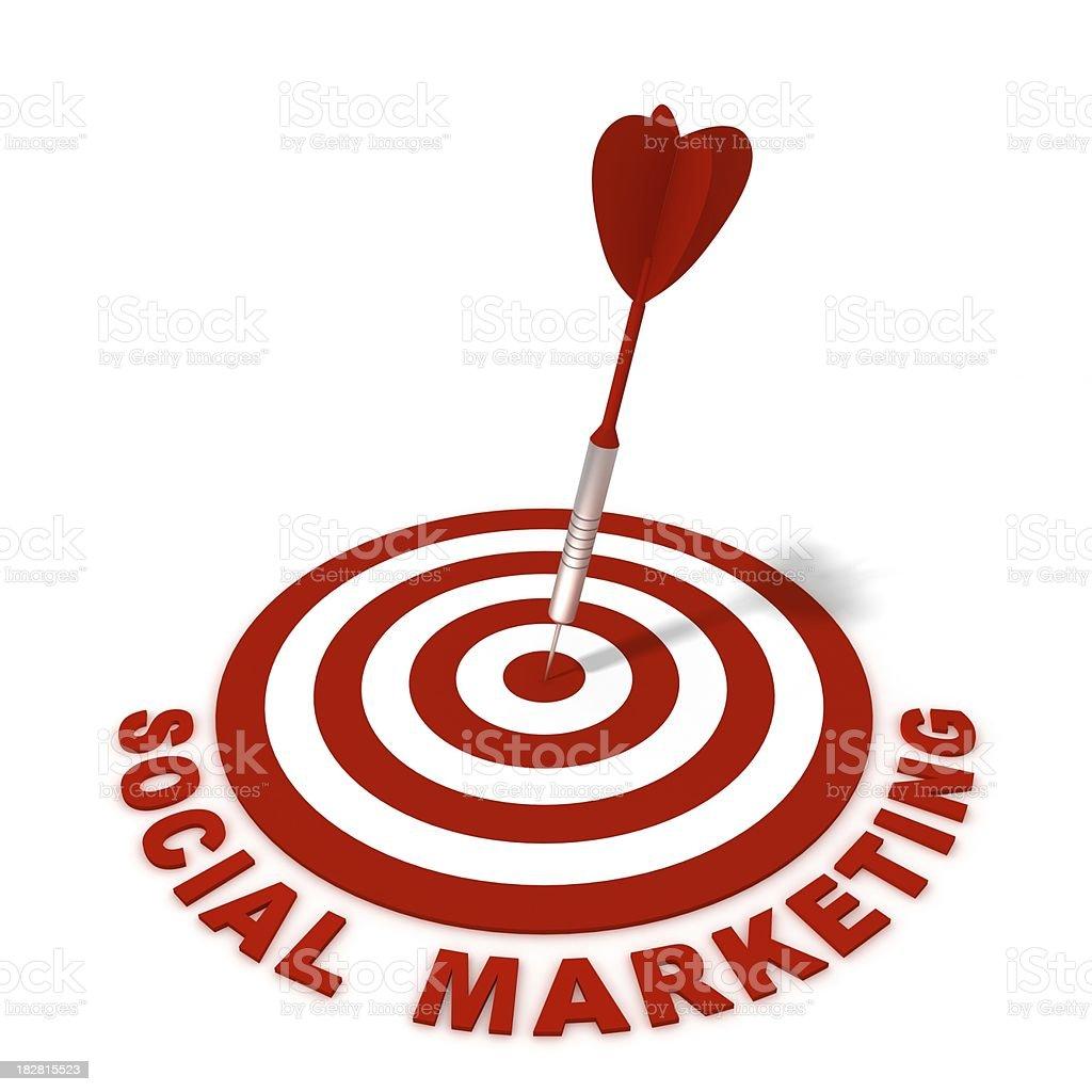 Social Marketing royalty-free stock photo