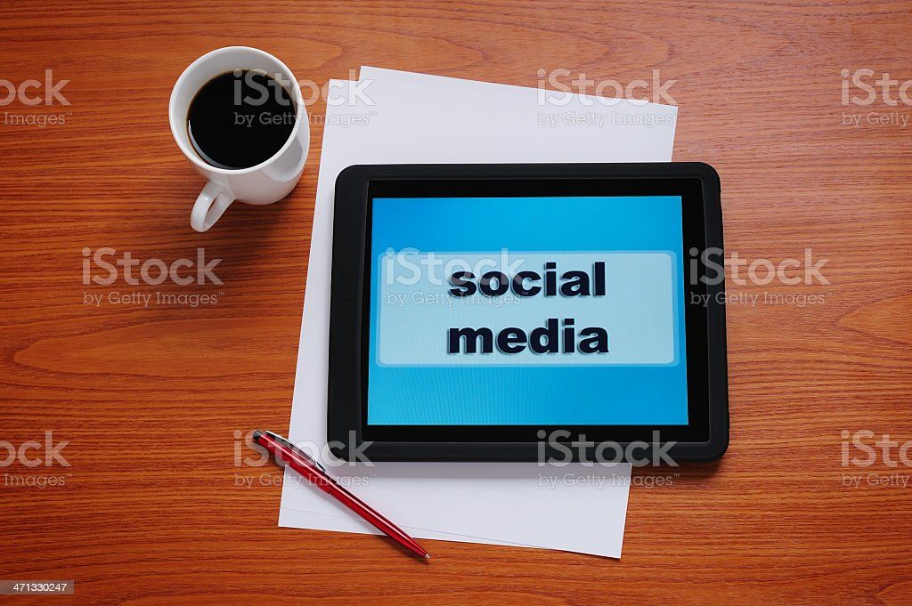 Social Media Business royalty-free stock photo