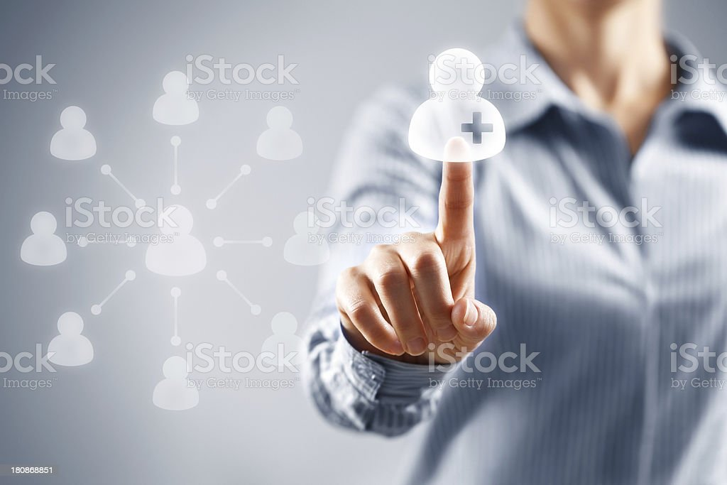 Social Media Concept royalty-free stock photo