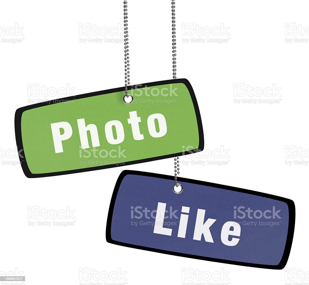 Social Media Concept Speech Bubble (Clipping Path) royalty-free stock photo