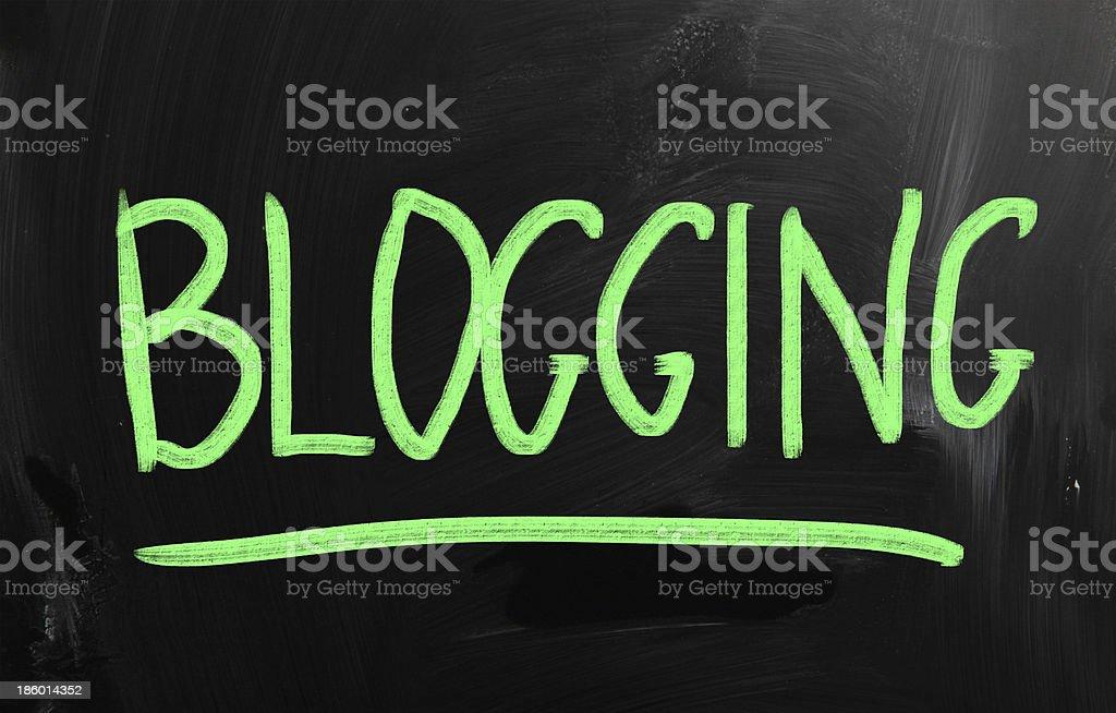 social media concept - text on a blackboard stock photo