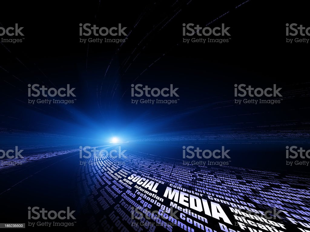 social media Concepts royalty-free stock photo