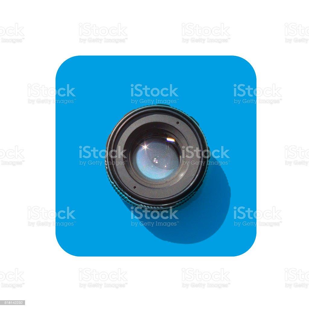 Social Media Image Sharing Symbol stock photo