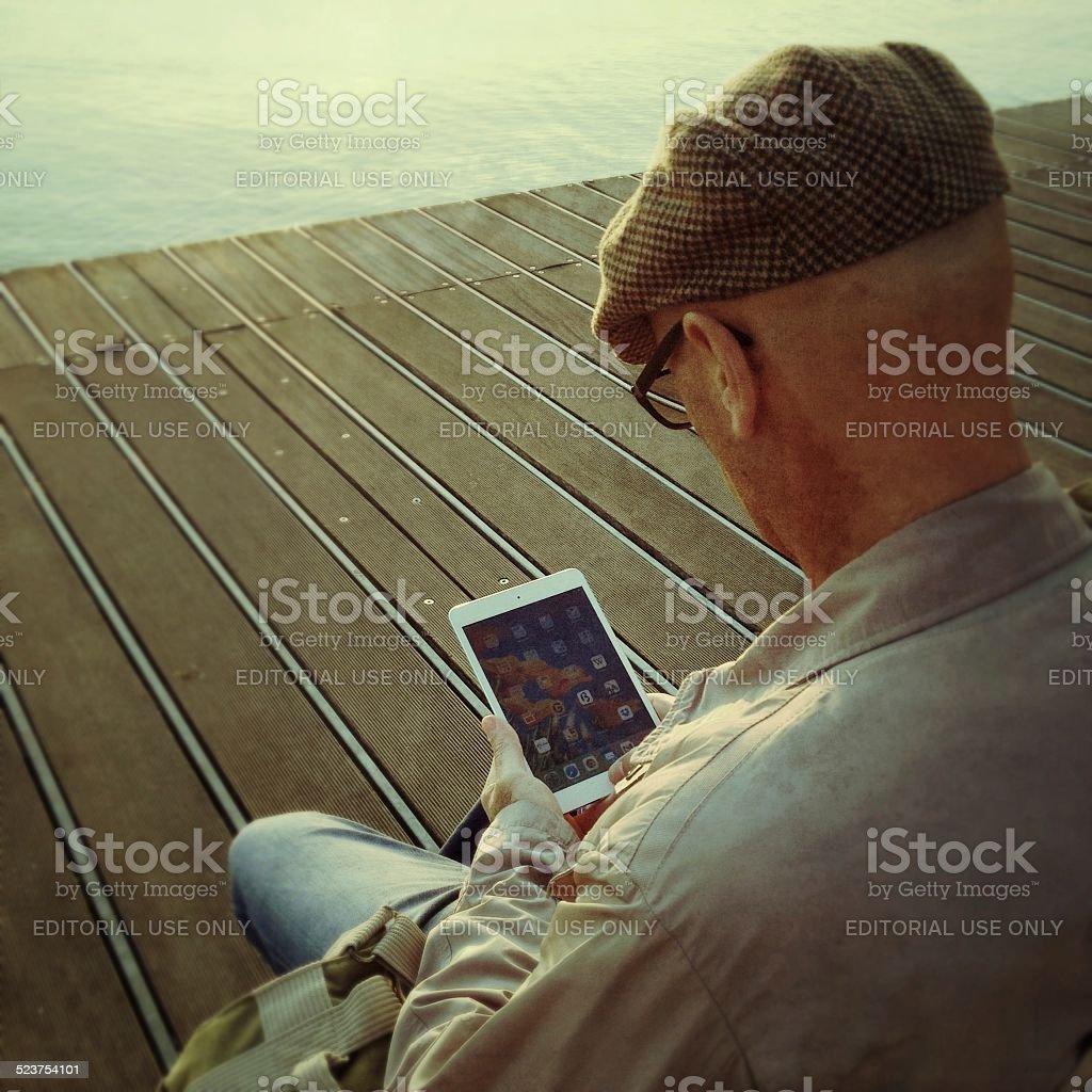 Social Media Life stock photo