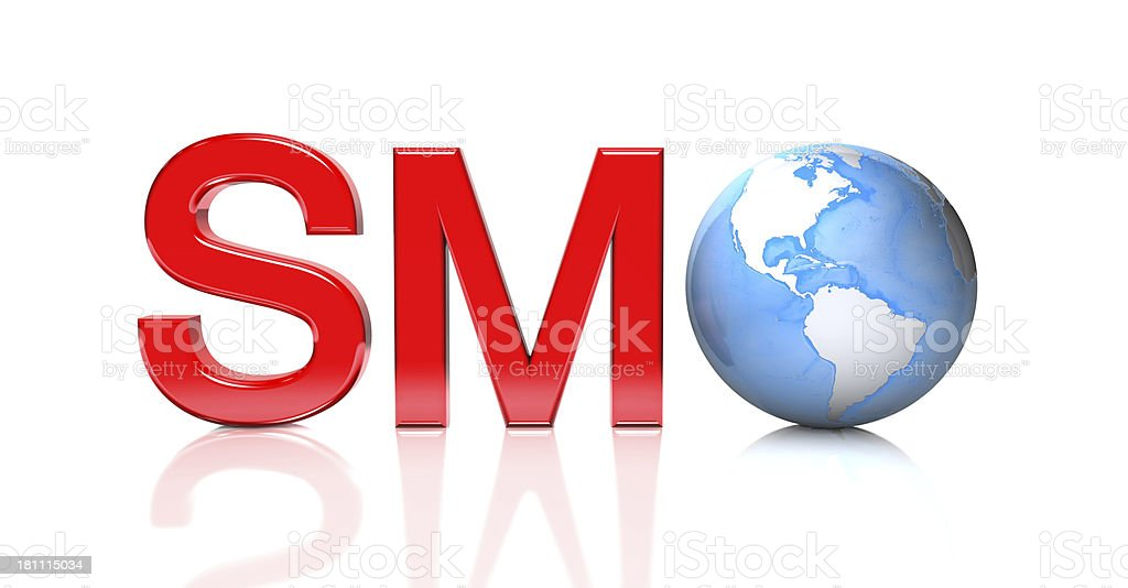 SMO - Social Media Optimization royalty-free stock photo