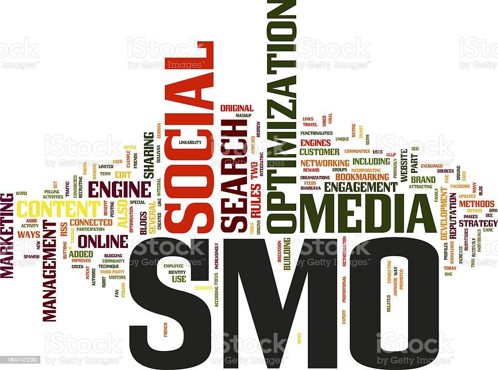 Social Media Optimization royalty-free stock photo