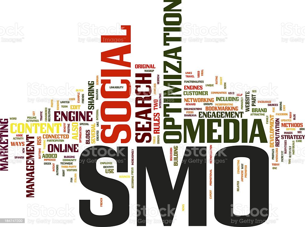 Social Media Optimization stock photo