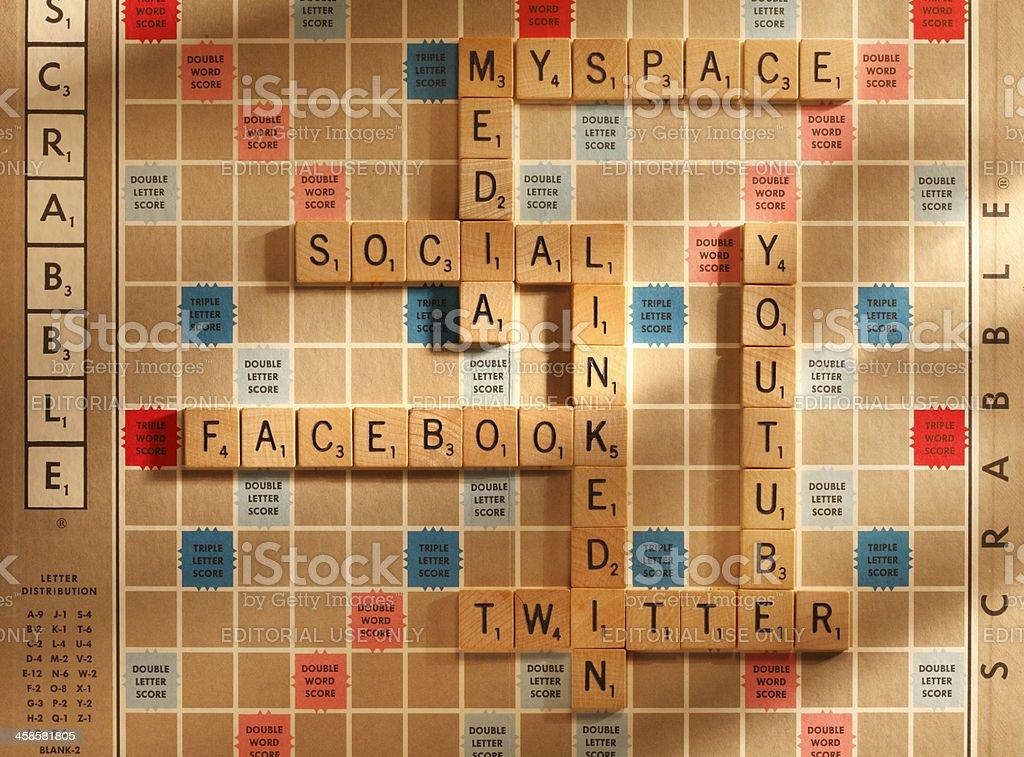 Social Media Sites royalty-free stock photo