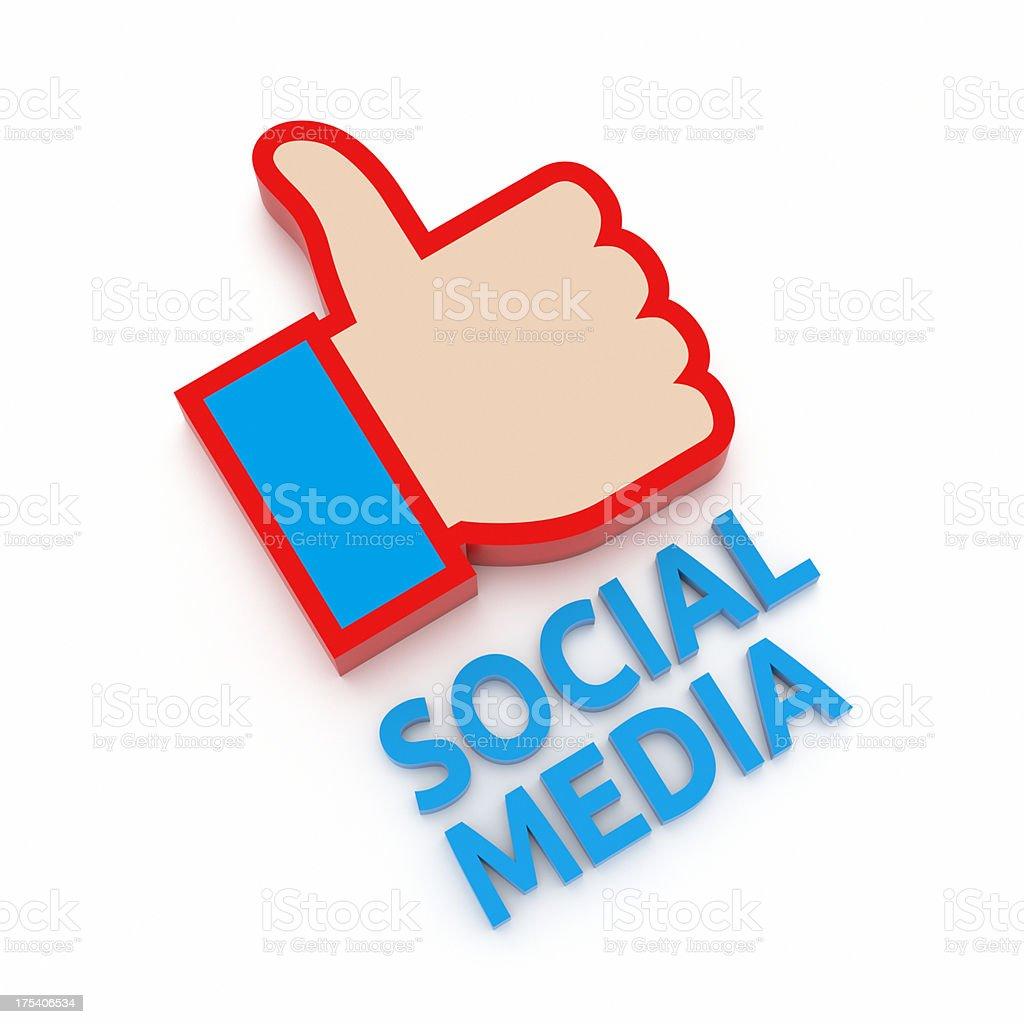 Social Media XL+ stock photo