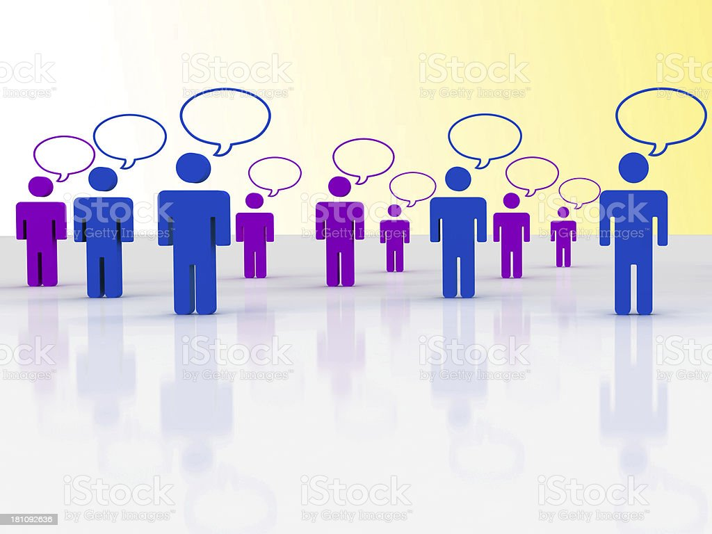 social network Concepts royalty-free stock photo