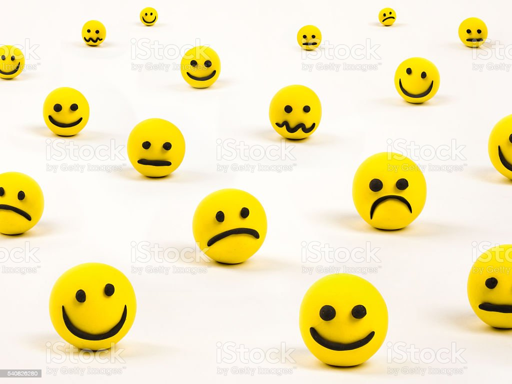Social network conceptual characters stock photo