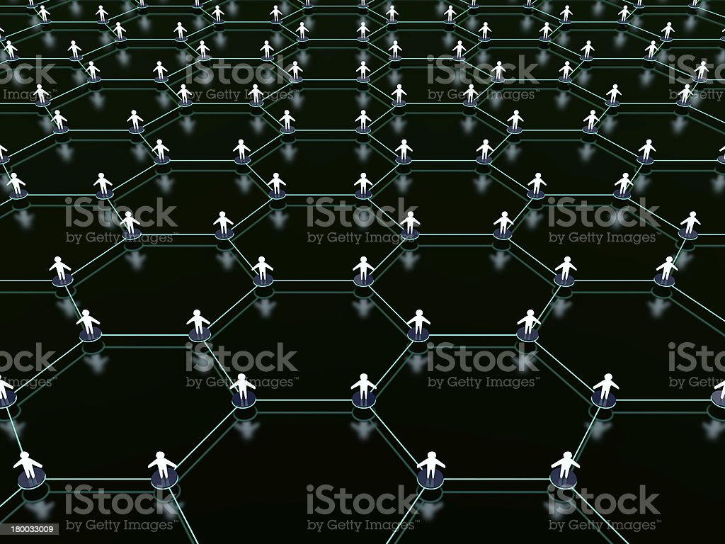 Social network. royalty-free stock photo
