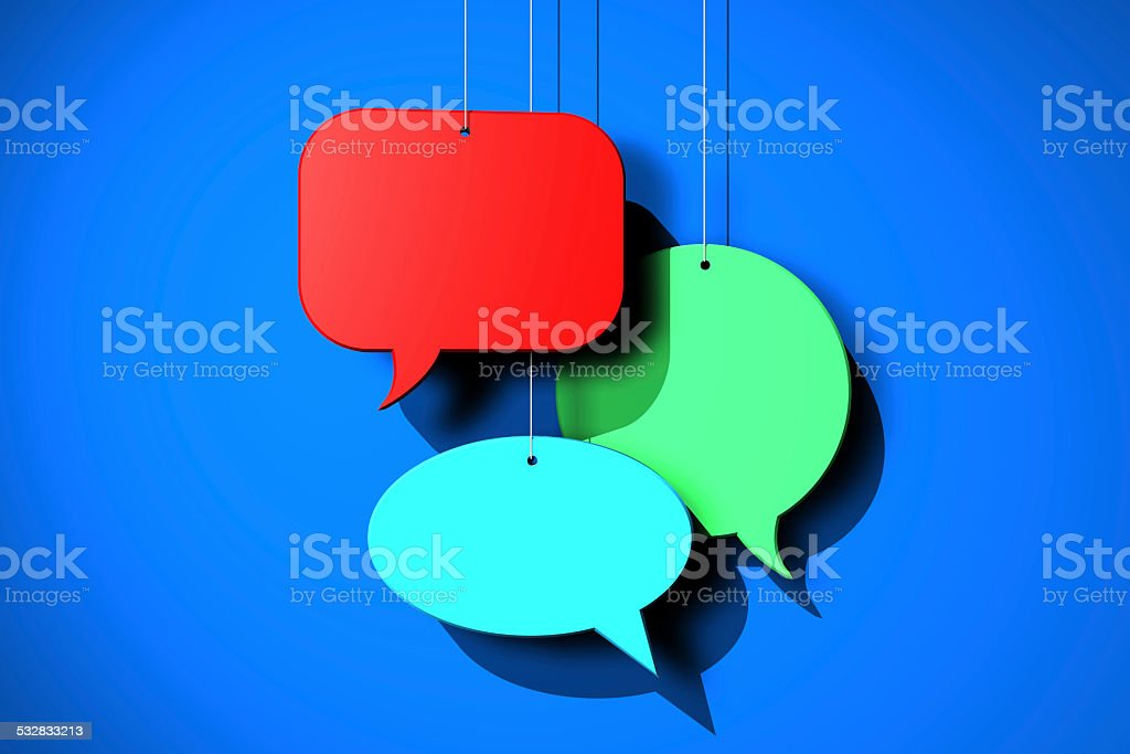 Social Networking Media, Messaging and Communication stock photo