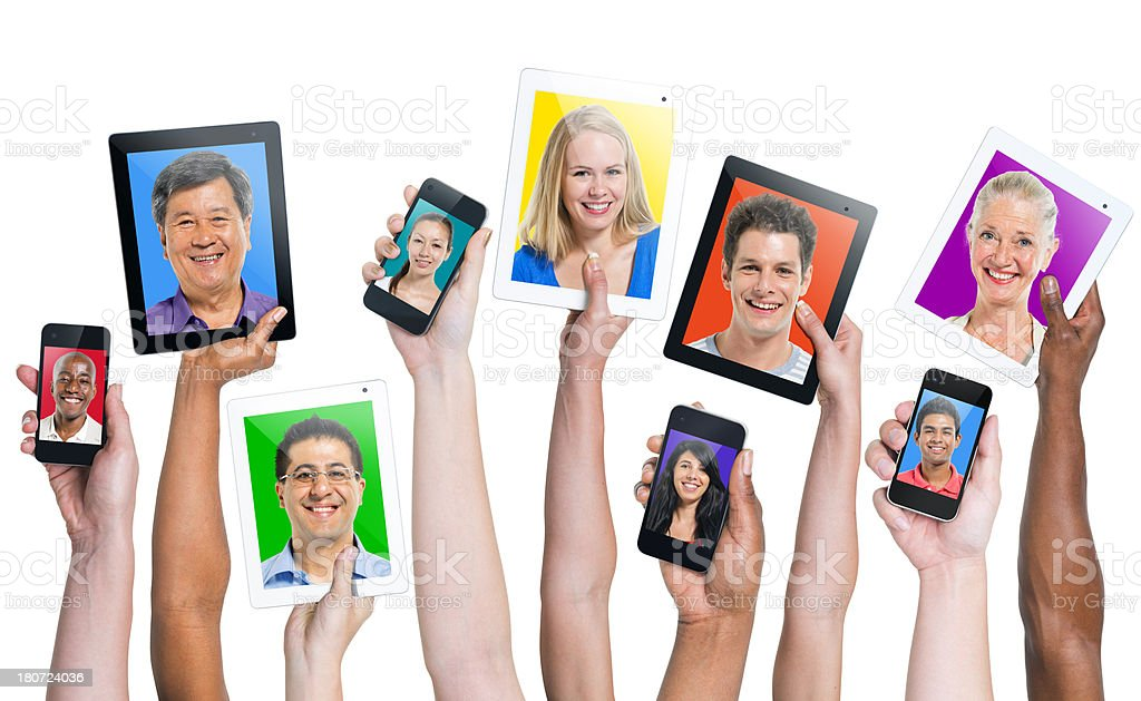 Social Networking royalty-free stock photo