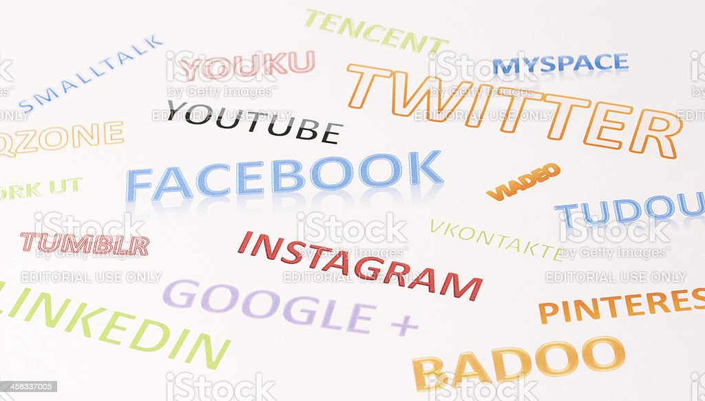Social Networking stock photo