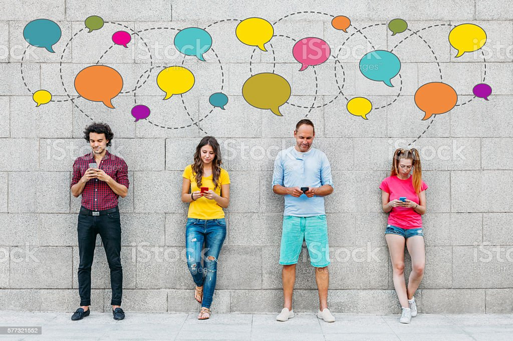 Social People stock photo