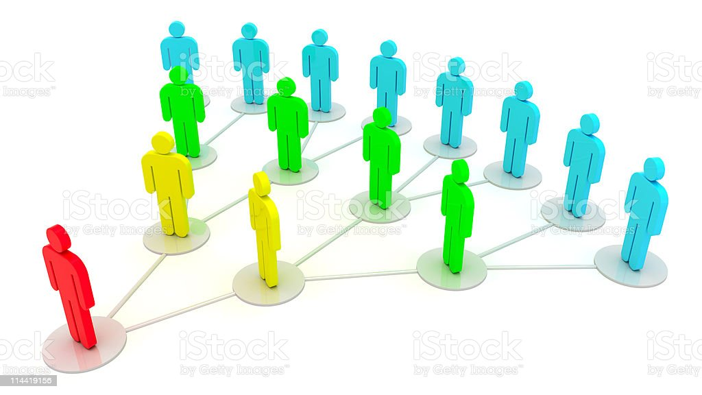 Social relations stock photo