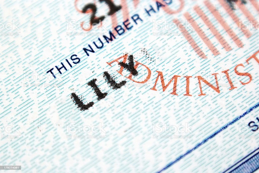 Social Security Card Close-up royalty-free stock photo