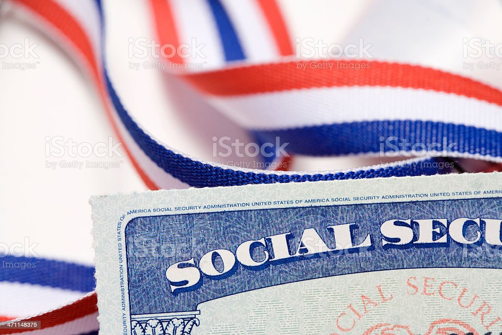 Social Security in America royalty-free stock photo