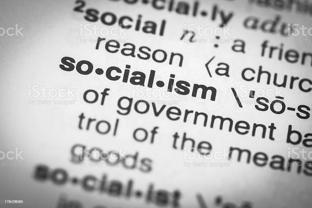 Socialism stock photo
