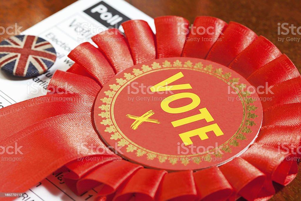 Socialist Party Vote stock photo