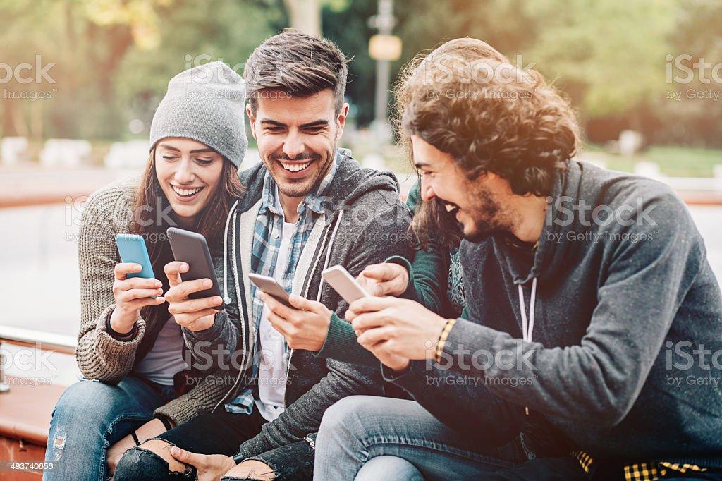 Sociall media stock photo