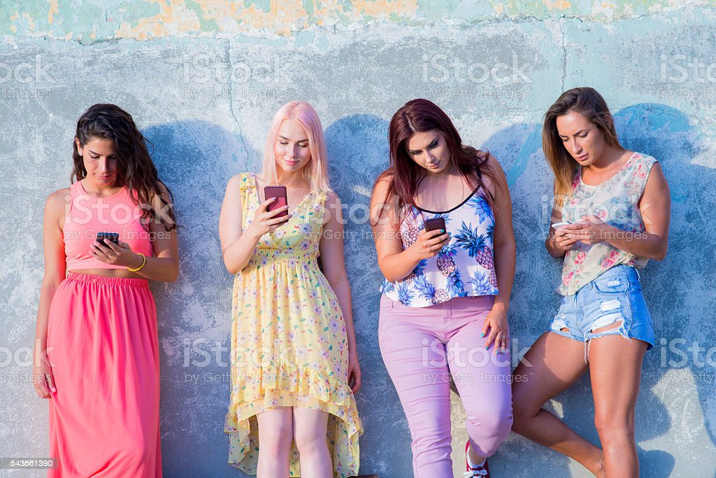Sociall networking - stock photo