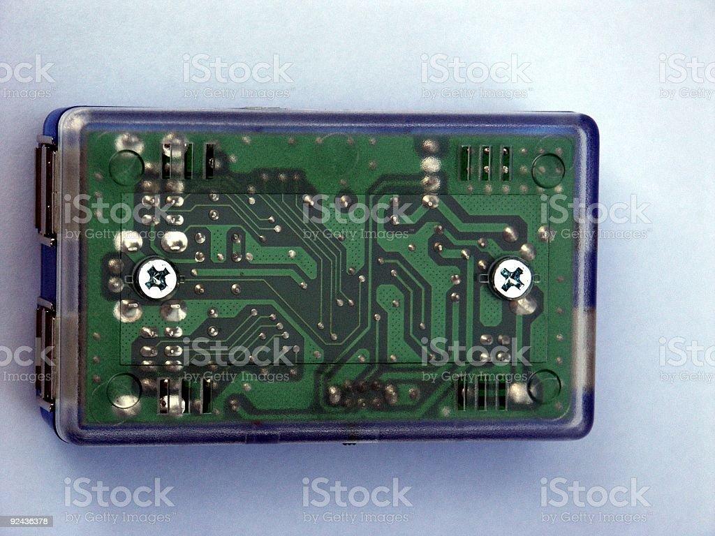 USB socket 2 royalty-free stock photo
