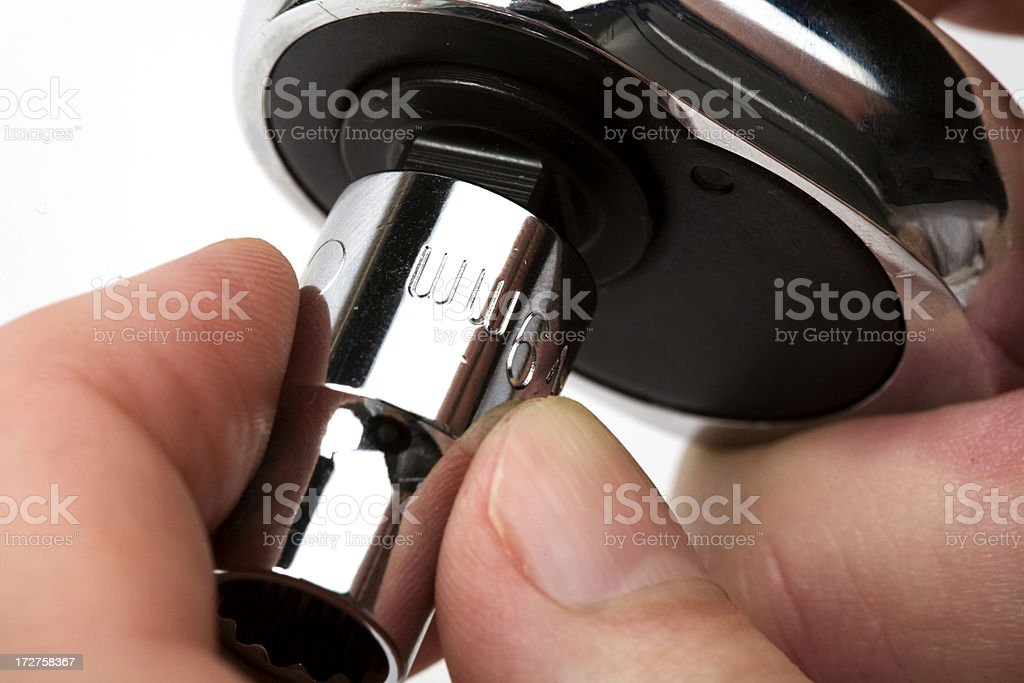 Socket Wrench royalty-free stock photo