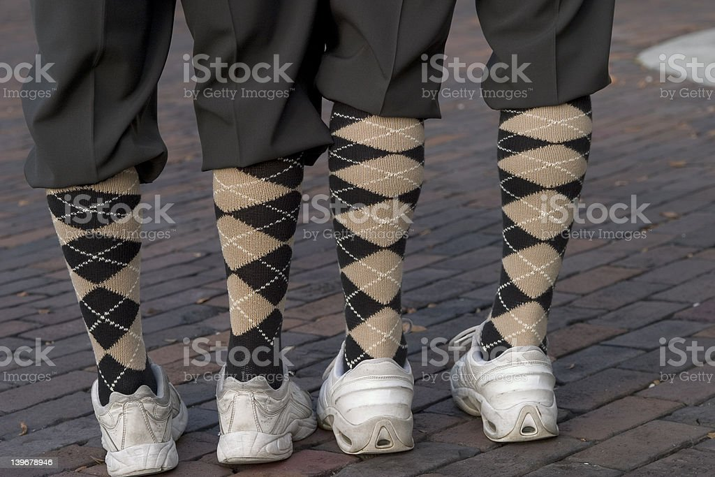 Socks and shoes stock photo