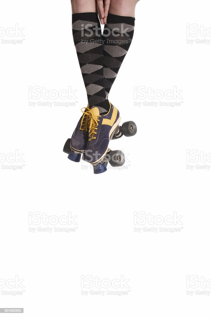 Socks and Skates stock photo