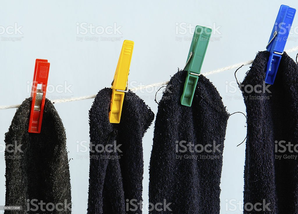 Socks royalty-free stock photo