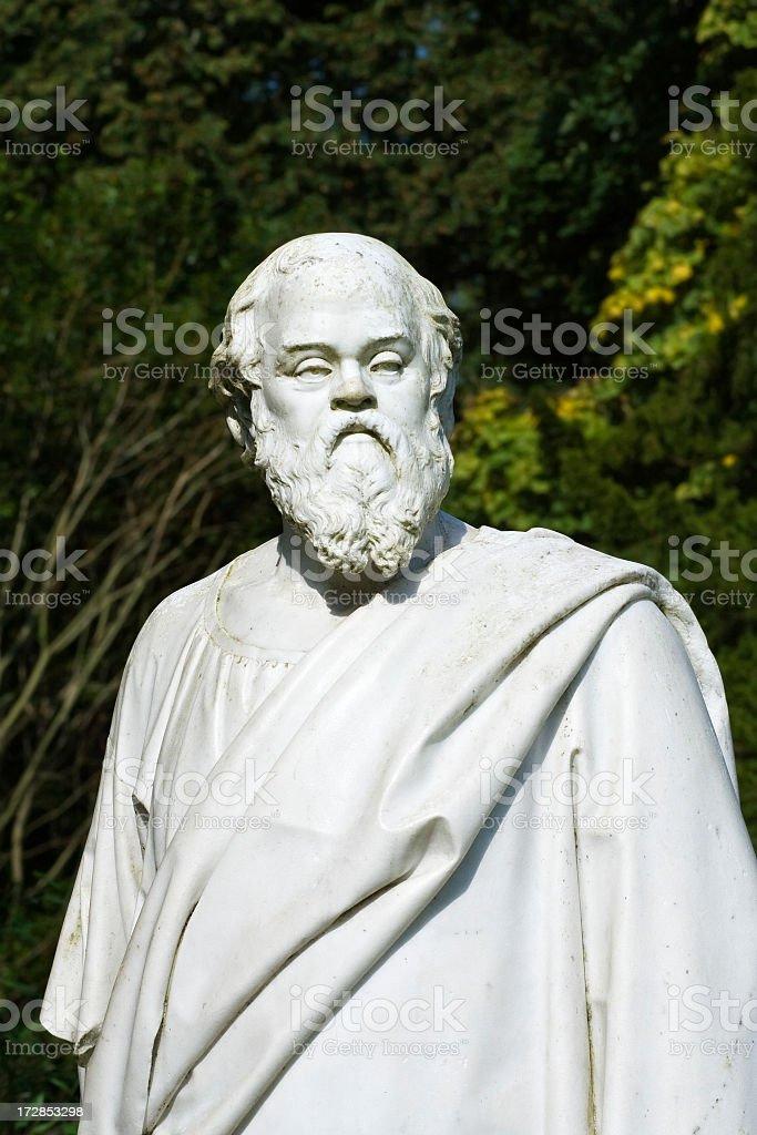 Socrates. stock photo