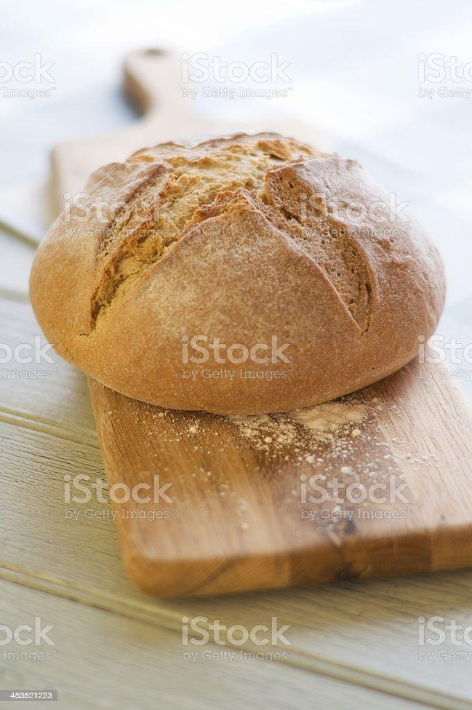 Soda Bread Cob royalty-free stock photo