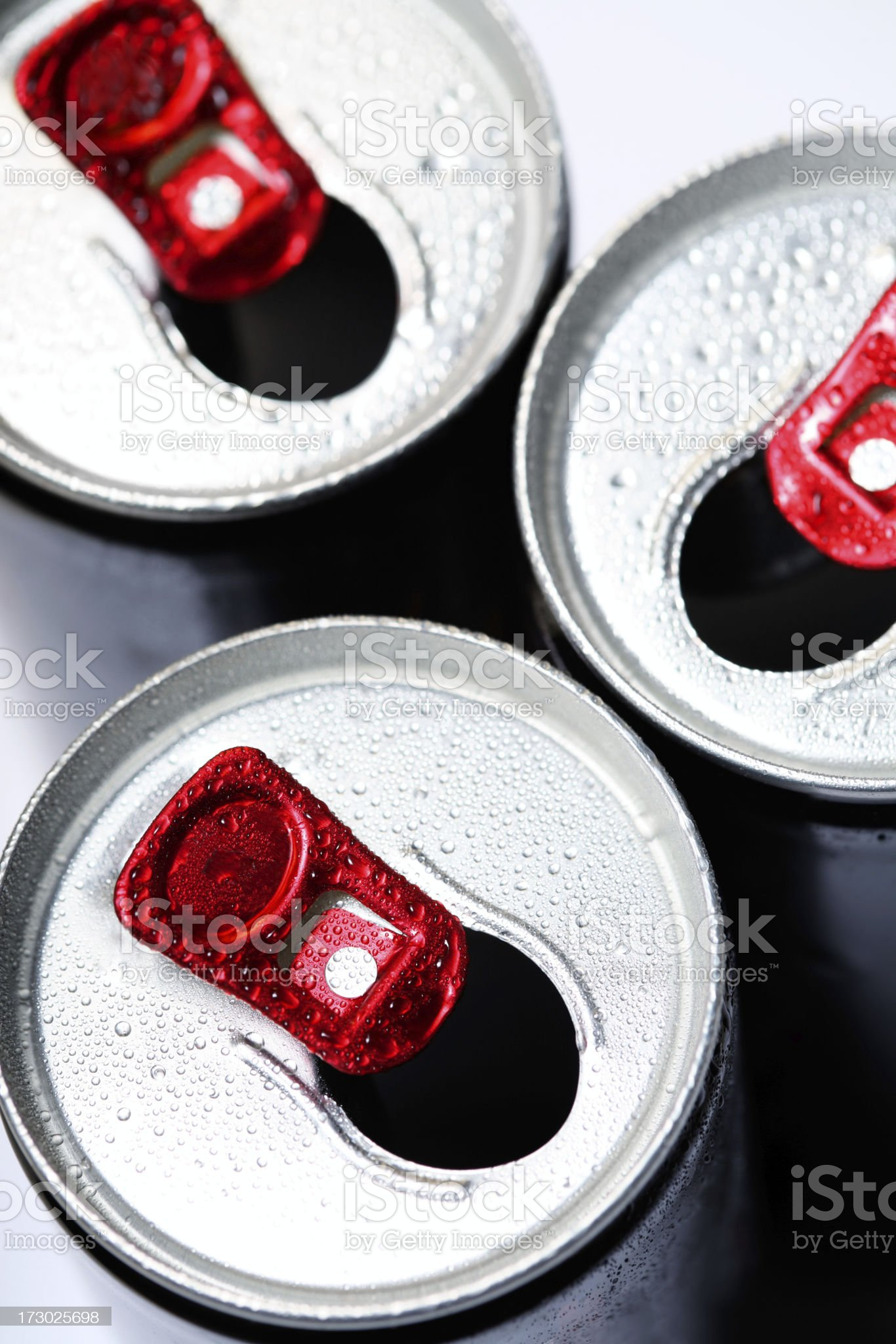 Soda Cans royalty-free stock photo
