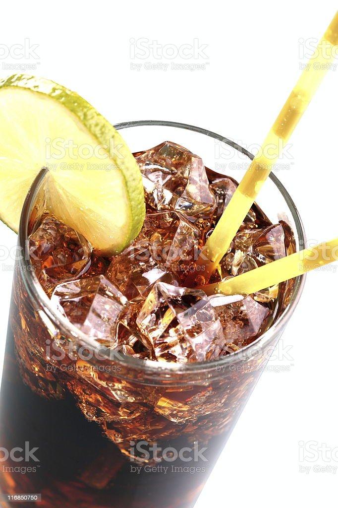 Soda Cola Close-Up royalty-free stock photo