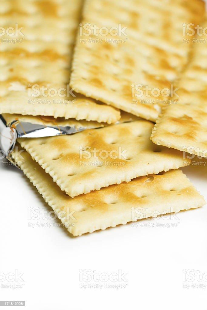 Soda Crackers royalty-free stock photo
