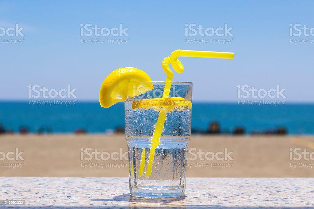 Soda Lemon stock photo