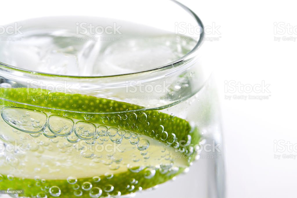 Soda Lime Close Up royalty-free stock photo