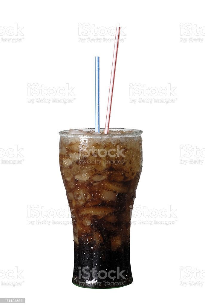 Soda Straws royalty-free stock photo