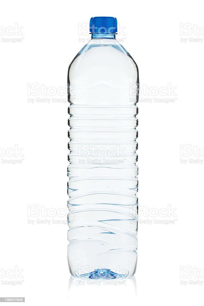 Soda water bottle stock photo