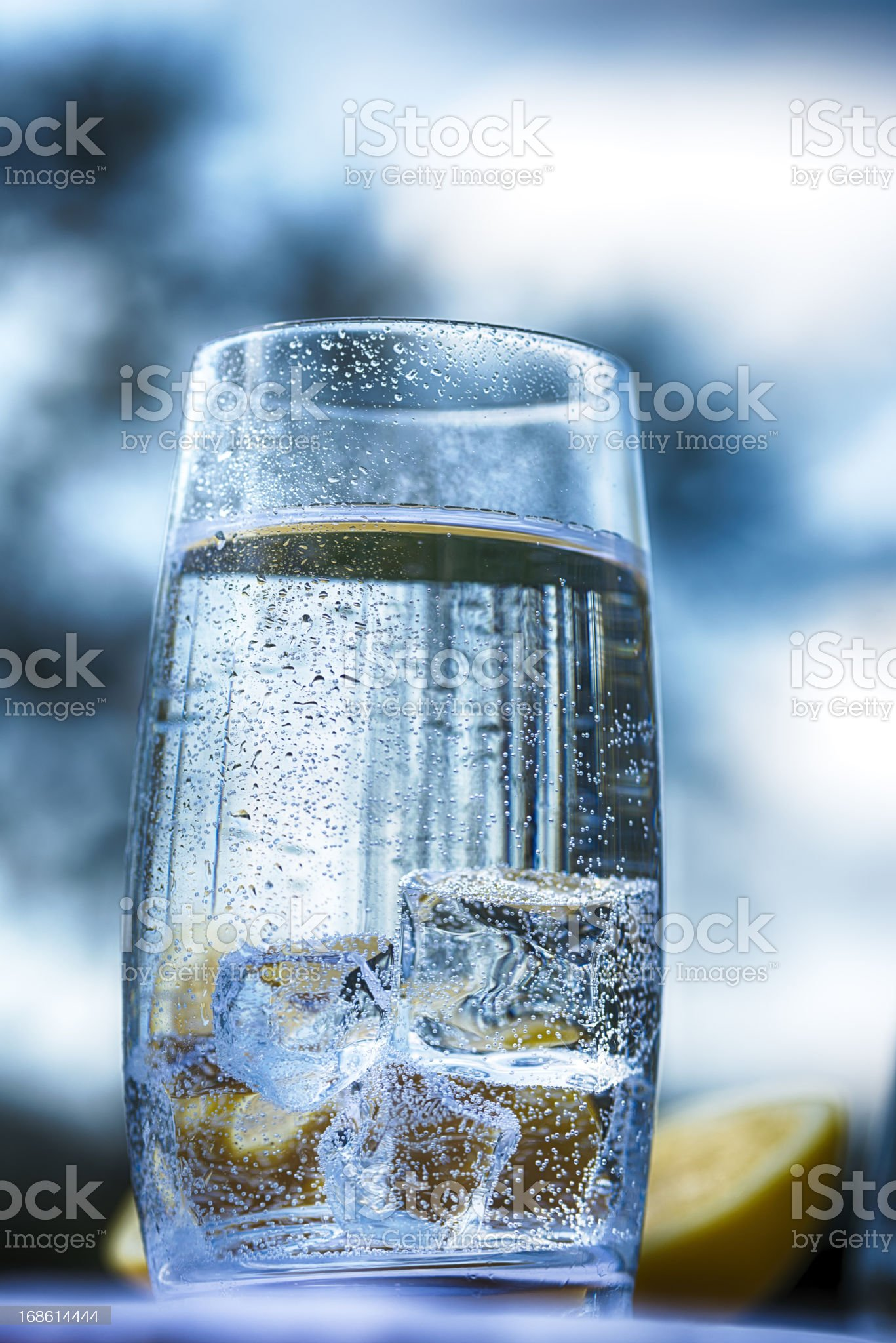 Soda water royalty-free stock photo