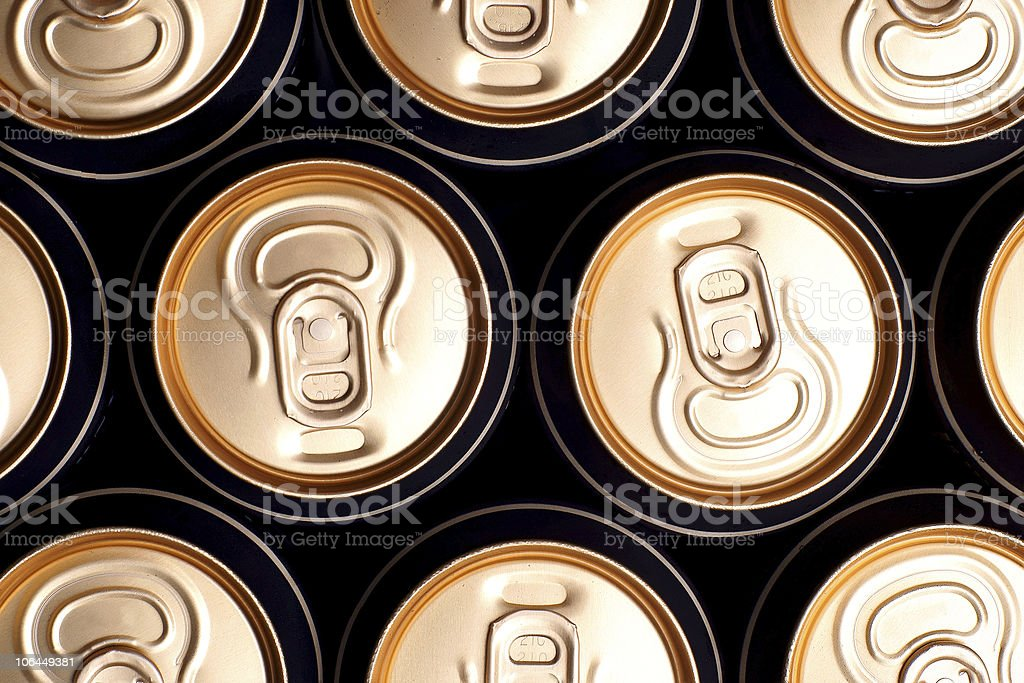 Soda/beer cans royalty-free stock photo