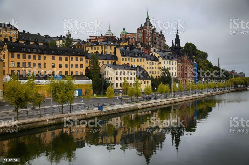 Sodermalm district in Stockholm, Sweden stock photo