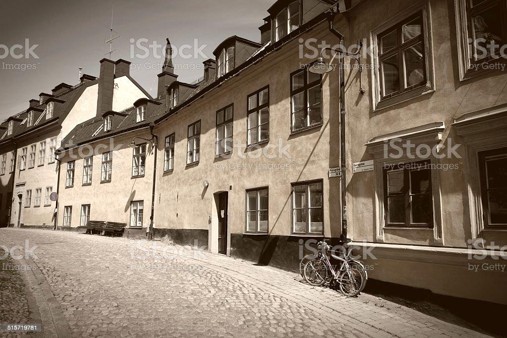 Sodermalm, Stockholm stock photo