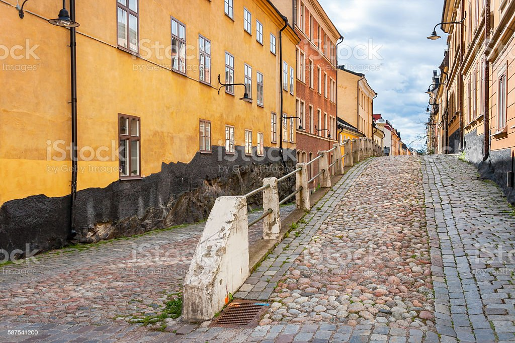 Sodermalm. Stockholm, Sweden stock photo